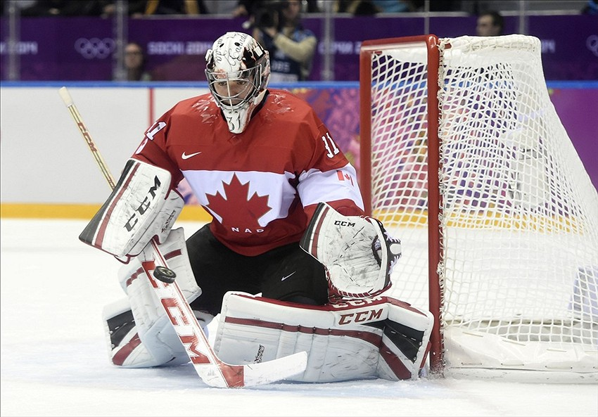 separation shoes dd0a8 e3aa2 Carey Price Olympic Gold Medal Sheds Label He Can't Win Big Game