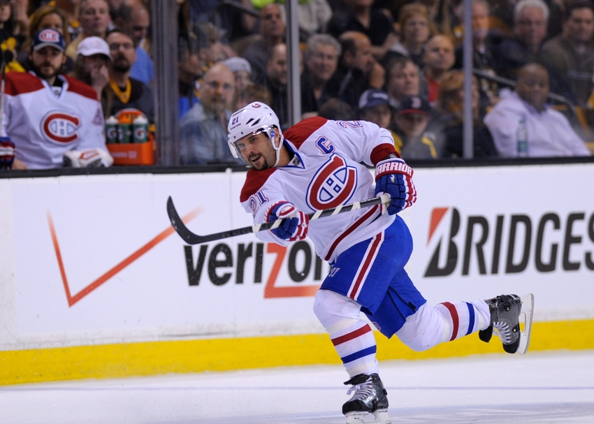 Will Brian Gionta Be Back With Montreal Canadiens Next Season?