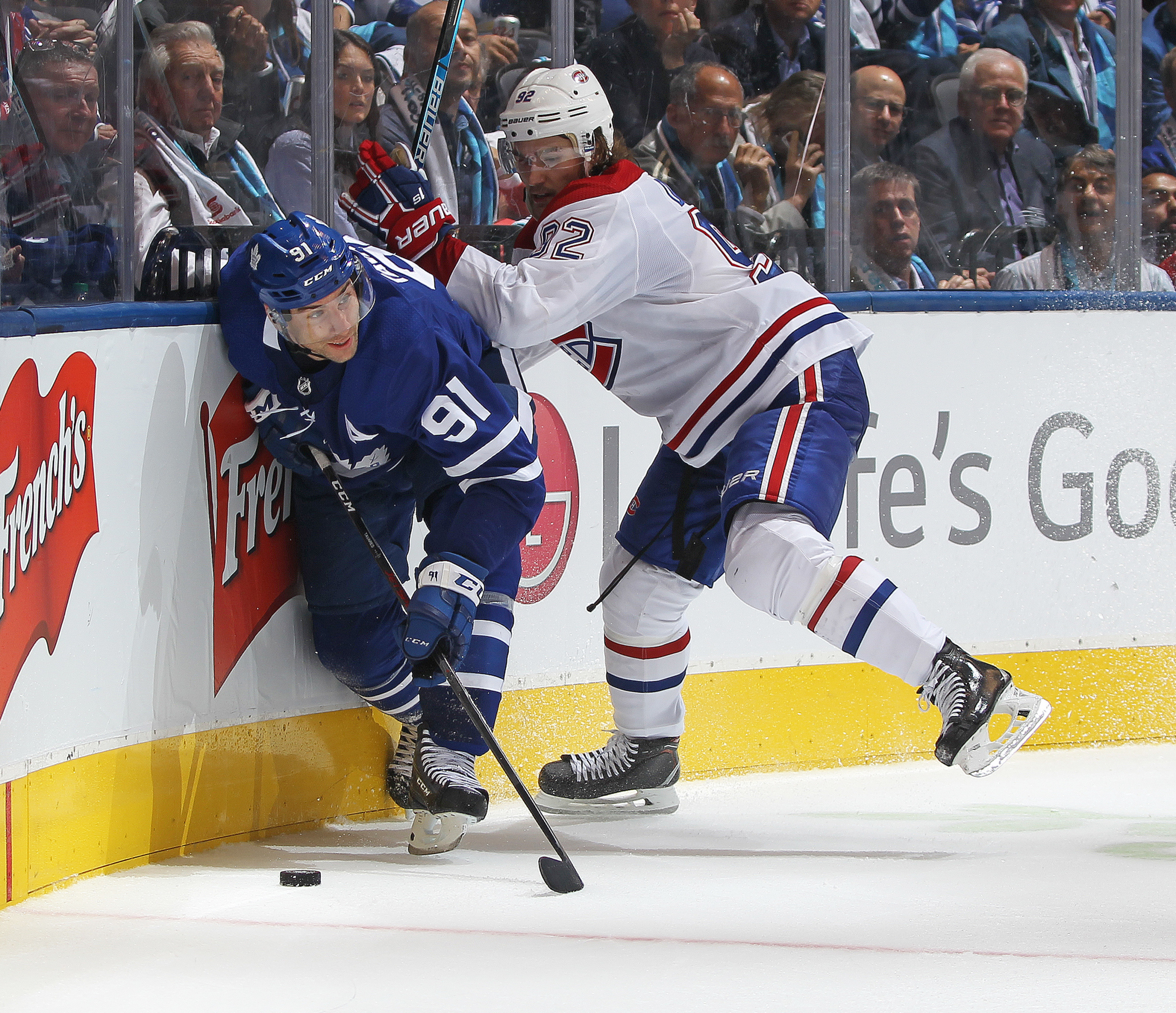 Montreal Canadiens Take On The Leafs Main Squad Amidst Trade Rumours