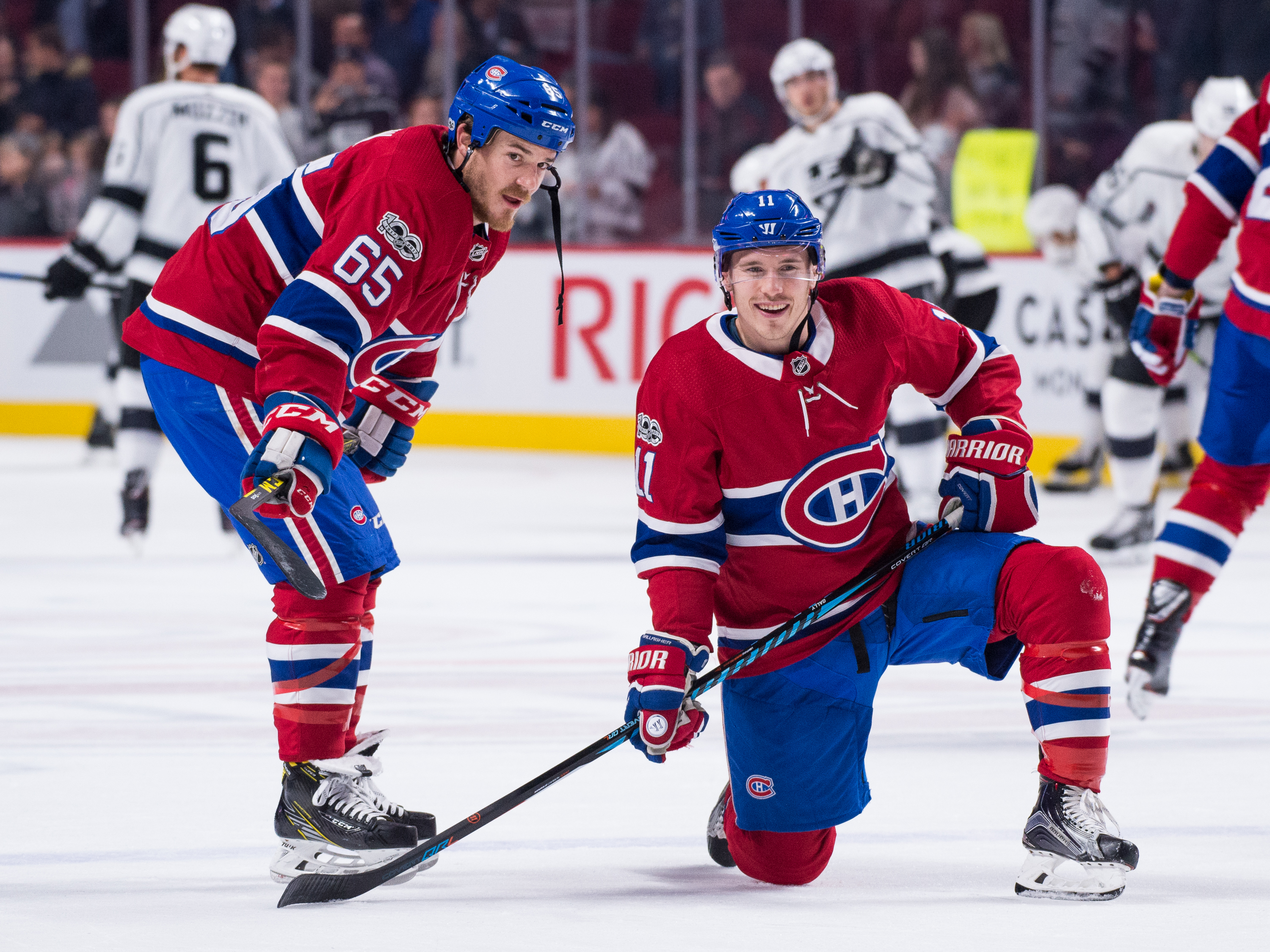 Montreal Canadiens: Gallagher and Shaw Sparking the Habs